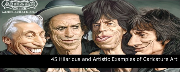45 Hilarious and Artistic Examples of Caricature Art