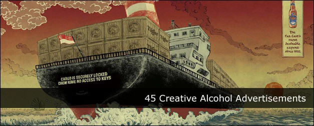 45 Creative Alcohol Advertisements