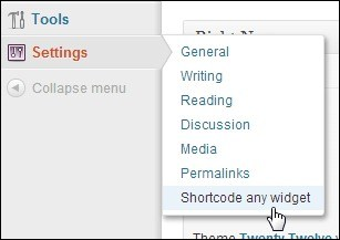 AMR Shortcode Any Widget – A Shortcode Widget Plugin for WordPress