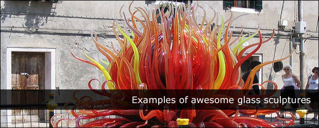 30 Examples of Awesome Glass Sculptures