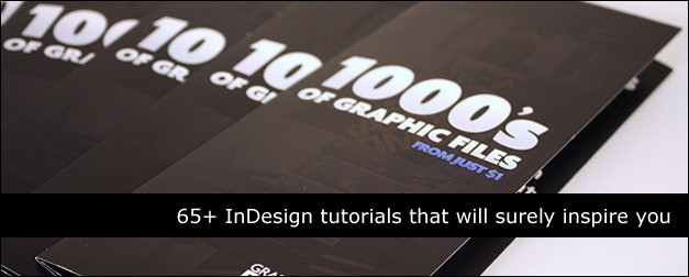 65+ InDesign Tutorial Roundup for Graphic Designers