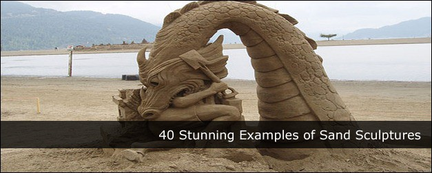 40 Stunning Examples of Sand Sculptures