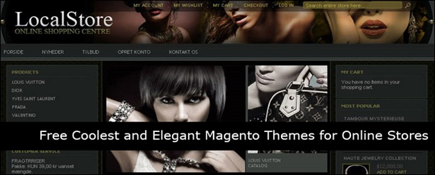 45 Free Elegant Magento Themes for Online Stores