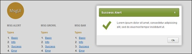 20 Useful jQuery Notification Plugins and Tutorials