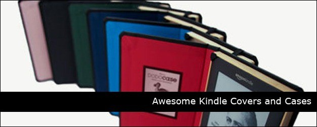 7 Awesome Kindle Covers and Cases