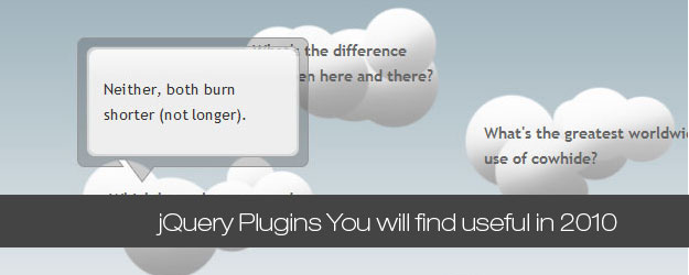 15 jQuery Plugins You will find useful in 2010