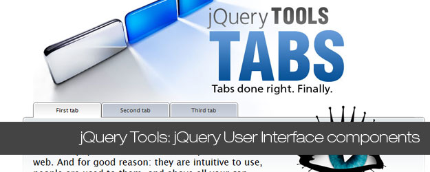 Toolkit with 6 Awesome jQuery User Interface components