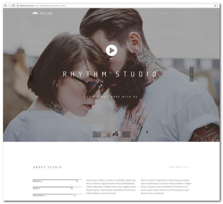 Rhythm Multipurpose Muse Template