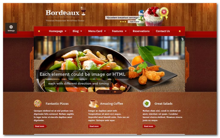 14 Amazing Restaurant Menu Templates For Wordpress For