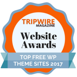 top wp free theme sites 2017
