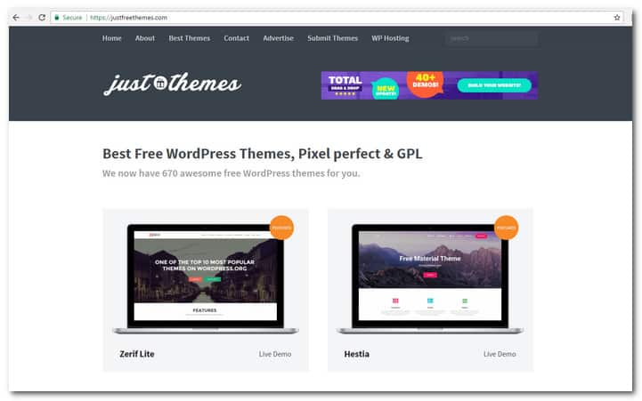 Just Free Themes