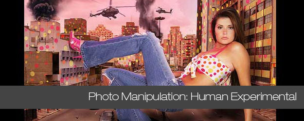 Experimental Human Photo Manipulation