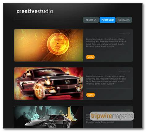 Creative-Studio-Web-Page