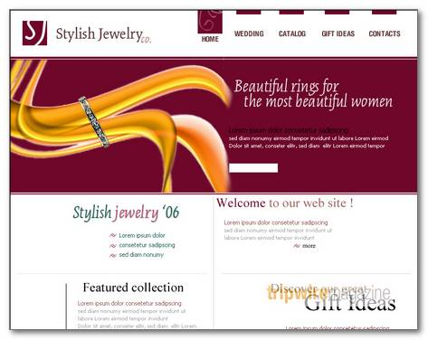 jewelry-web-template