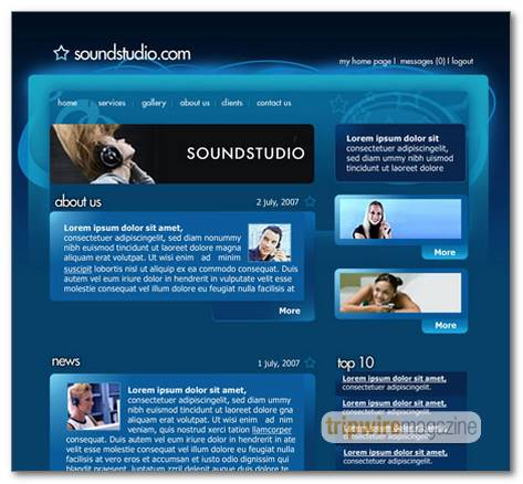 Sound-System-Studio-Web-Layout