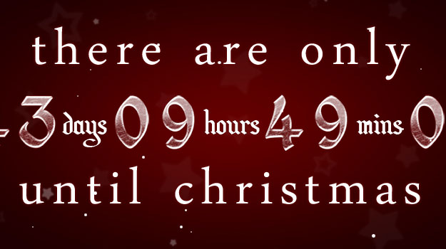 How Many Minutes Till Christmas.Bestartdezign Your Web Knowledge Top 10 Beautiful Christmas
