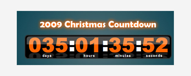 XML Christmas Countdown
