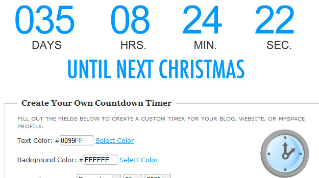 Your Own Countdown Timer