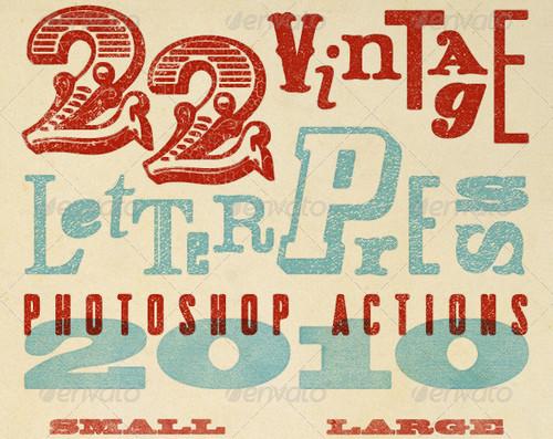 Vintage-Letterpress