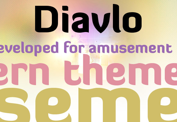 Diavlo Black Free Font