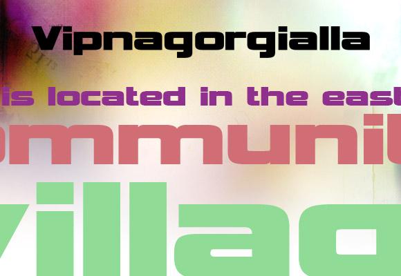 Vipnagorgialla Free Font