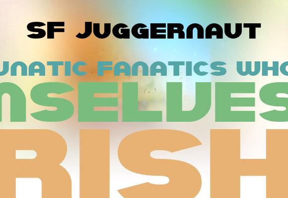 SF Juggernaut Bold Free Font