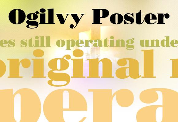 Ogilvy Poster Free Font