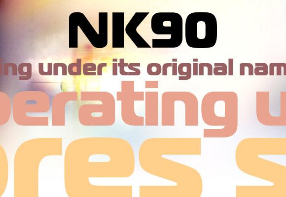 NK90 Free Font