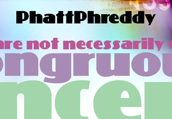 PhattPhreddy Free Font