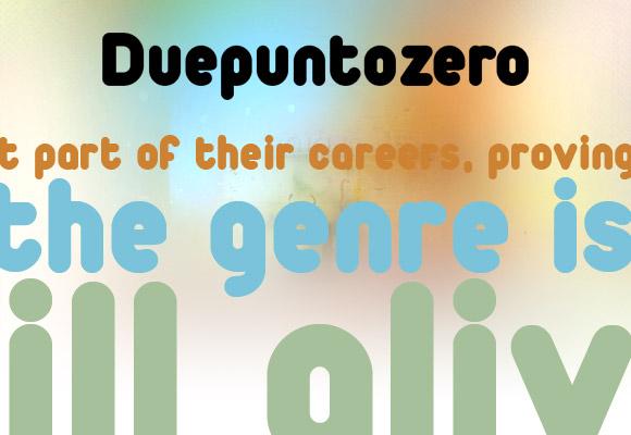 Duepuntozero Black Free Font