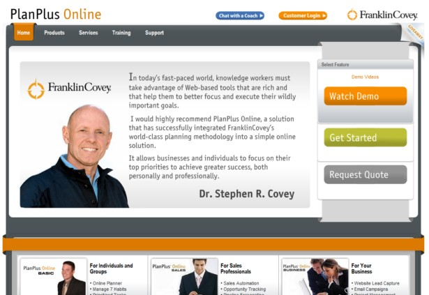 PlanPlus™ Online - CRM by FranklinCovey, Manage the 7 Habits