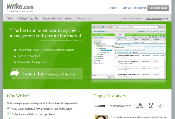 Wrike - Project Management Software, Project Planning Software, Time Tracking Software