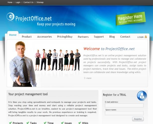 ProjectOffice.net - Online project management software