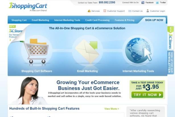 1ShoppingCart.com - Shopping Cart and Ecommerce Software