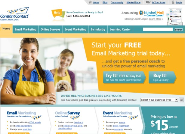 ConstantContact - Email Marketing Solutions