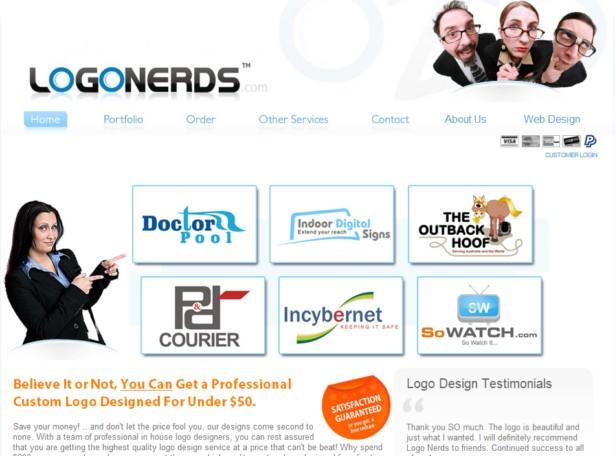 LogoNerds - Small Business Logo Design, Cheap logo design, Custom Affordable Logos