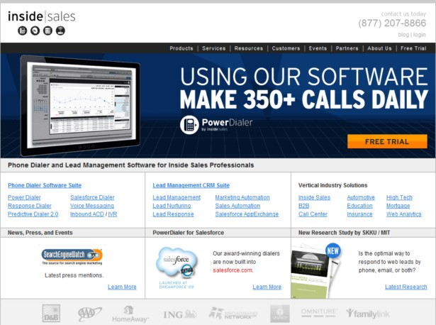 Inside Sales - Phone Dialer Software, Lead Management Software, Inside Sales Solutions