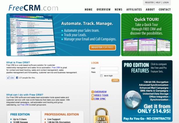 FreeCRM - Free CRM
