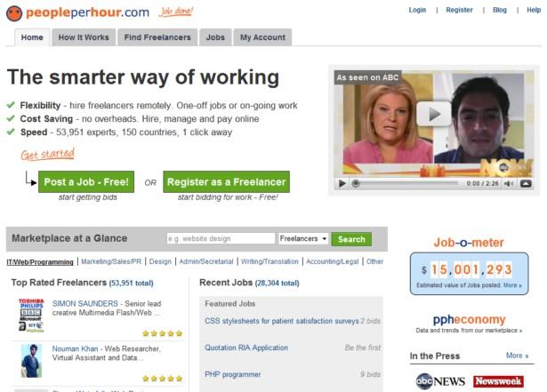 PeoplePerHour - Find Freelancers