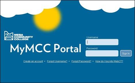 MyMCC Portal