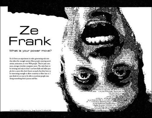 ze frank poster