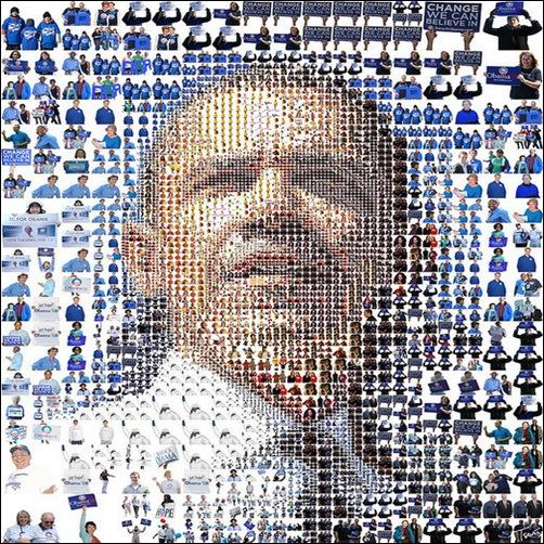 barack obama- Mosaic