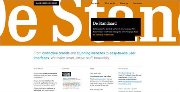 40 Great Examples Of Grid Style In Web Design Tripwire Magazine