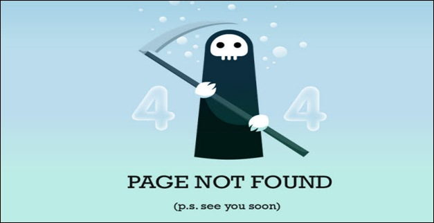 50 Professional and Creative 404 Error Page Designs