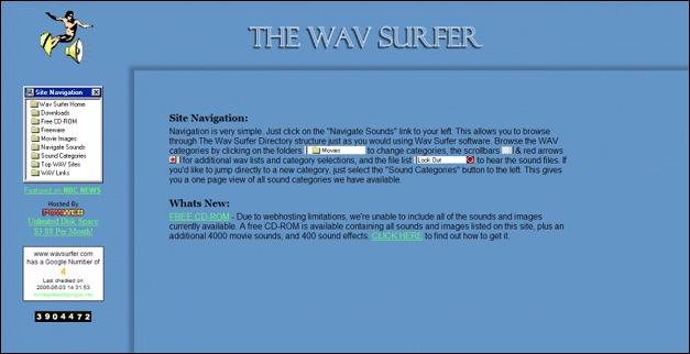 wav Surfer