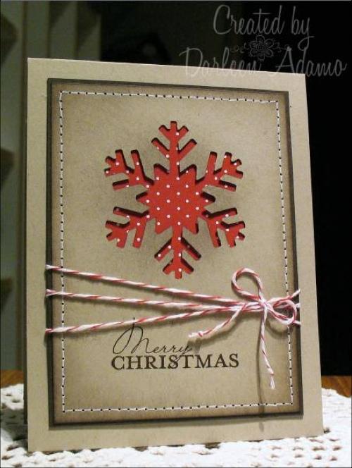 Darleen Stamps Christmas Card