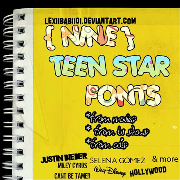9teen fonts