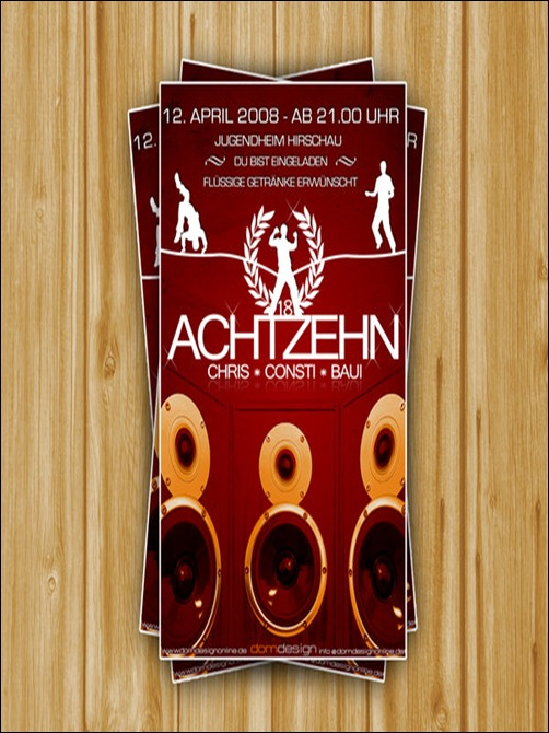 Flyer_Achtzehn_Party_by_DOMDESIGN