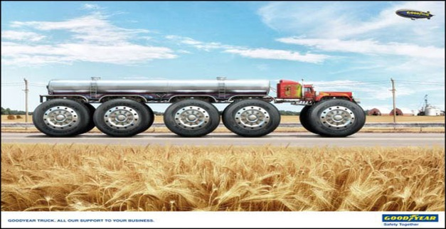 Goodyear big truck