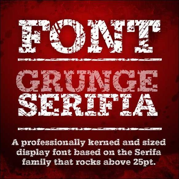 Grunge serifia